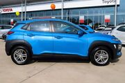 2017 Hyundai Kona OS MY18 Active 2WD Blue Lagoon 6 Speed Sports Automatic Wagon Blacktown Blacktown Area Preview
