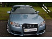£0 DEPOSIT FINANCE**Audi A4 2.0 TDI S Line 4dr***6 MONTH AA WARRANTY** 12 MONTH MOT*** PX WELCOME