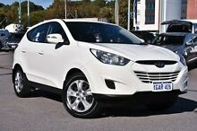 2012 Hyundai ix35 LM MY11 Active White 6 Speed Sports Automatic Wagon Myaree Melville Area Preview