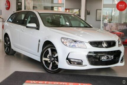 2017 Holden Commodore White Sports Automatic Wagon