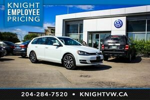2015 Volkswagen Golf Sportwagon Highline w/ Multimedia Pkg