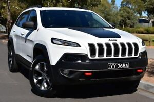 2015 Jeep Cherokee KL MY15 Trailhawk White 9 Speed Sports Automatic Wagon St Marys Mitcham Area Preview