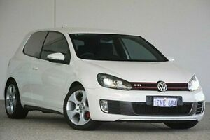 2010 Volkswagen Golf VI MY10 GTI DSG White 6 Speed Sports Automatic Dual Clutch Hatchback Wangara Wanneroo Area Preview