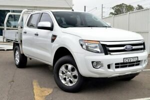 2015 Ford Ranger PX XLS Double Cab White 6 Speed Sports Automatic Utility Gosford Gosford Area Preview