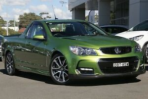 2015 Holden Ute VF II MY16 SS V Ute Green 6 Speed Manual Utility Gymea Sutherland Area Preview