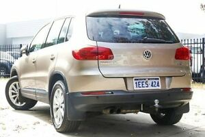 2013 Volkswagen Tiguan 5N MY14 155TSI DSG 4MOTION Beige 7 Speed Sports Automatic Dual Clutch Wagon Glendalough Stirling Area Preview