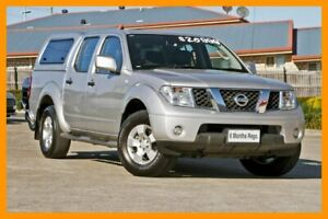 2014 Nissan Navara D40 S9 Silverline SE Silver 5 Speed Automatic Utility Hillcrest Logan Area Preview