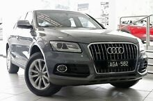 2015 Audi Q5 8R MY16 TDI S tronic quattro Grey 7 Speed Sports Automatic Dual Clutch Wagon North Melbourne Melbourne City Preview