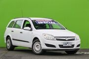 2007 Holden Astra AH MY07 CD White 4 Speed Automatic Wagon Ringwood East Maroondah Area Preview