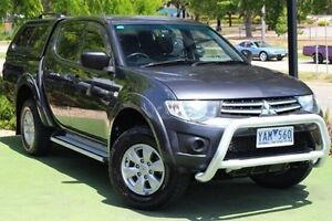 2010 Mitsubishi Triton MN MY11 GL-R Double Cab Activ Grey 5 Speed Manual Utility Berwick Casey Area Preview