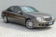 2009 Mercedes-Benz E280 W211 MY08 Elegance Grey 7 Speed Sports Automatic Sedan Embleton Bayswater Area Preview