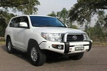 2014 Toyota Landcruiser VDJ200R MY13 GXL (4x4) White 6 Speed Automatic Wagon South Maitland Maitland Area Preview