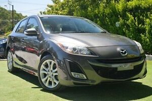 2009 Mazda 3 BL10L1 SP25 Grey 6 Speed Manual Hatchback Paradise Campbelltown Area Preview