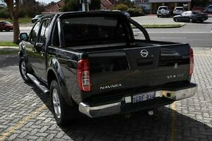 2012 Nissan Navara D22 Series 5 DX (4x2) Black 5 Speed Sports Automatic Utility St James Victoria Park Area Preview