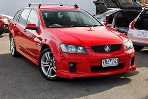 2010 Holden Commodore VE MY10 SV6 Sportwagon Red 6 Speed Sports Automatic Wagon Dandenong Greater Dandenong Preview