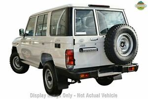 2012 Toyota Landcruiser VDJ76R MY10 Workmate White 5 Speed Manual Wagon Westminster Stirling Area Preview