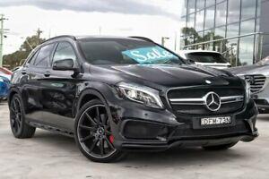 2016 Mercedes-Benz GLA 45 AMG 4MATIC X156 807MY AMG SPEEDSHIFT DCT 4MATIC Black 7 Speed