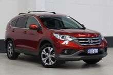 2014 Honda CR-V 30 MY14 DTI-L (4x4) Red 5 Speed Automatic Wagon Bentley Canning Area Preview