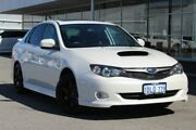 2010 Subaru Impreza G3 MY10 WRX Club Spec 10 AWD White 5 Speed Manual Sedan Osborne Park Stirling Area Preview
