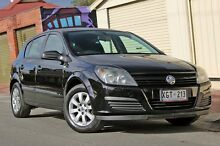 2005 Holden Astra AH MY05 CD Black 5 Speed Manual Hatchback Glenelg Holdfast Bay Preview