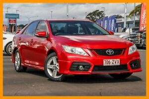 2013 Toyota Aurion GSV50R Sportivo SX6 Red 6 Speed Sports Automatic Sedan Aspley Brisbane North East Preview