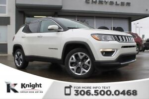 2018 Jeep Compass Limited 4x4 | Sunroof | Navigation