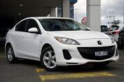2013 Mazda 3 BL10F2 MY13 Neo Activematic White 5 Speed Sports Automatic Sedan Mornington Mornington Peninsula Preview
