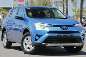 2017 Toyota RAV4 ZSA42R GX 2WD Blue 7 Speed Constant Variable Wagon Upper Mount Gravatt Brisbane South East Preview