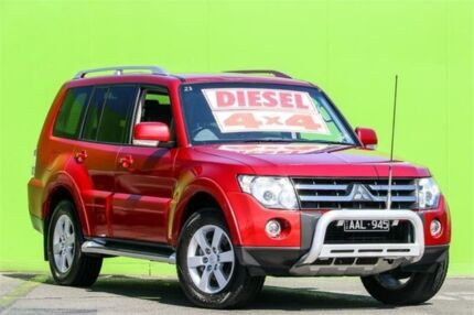 2008 Mitsubishi Pajero NS 25th Anniversary Red 5 Speed Sports Automatic Wagon Ringwood East Maroondah Area Preview