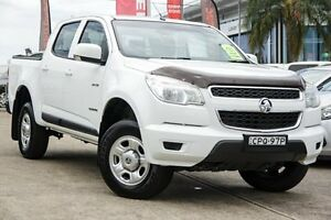 2013 Holden Colorado RG MY13 LX Crew Cab White 5 Speed Manual Utility Blacktown Blacktown Area Preview