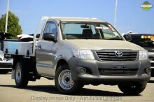2013 Toyota Hilux TGN16R MY14 Workmate Glacier 5 Speed Manual Cab Chassis Mill Park Whittlesea Area Preview