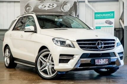 2013 Mercedes-Benz ML350 W166 BlueTEC 7G-Tronic + Diamond White 7 Speed Sports Automatic Wagon Albion Brisbane North East Preview