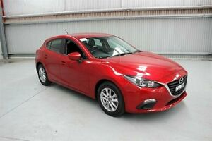 2015 Mazda 3 BM5478 Neo SKYACTIV-Drive Burgundy 6 Speed Sports Automatic Hatchback Maryville Newcastle Area Preview