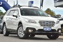 2016 Subaru Outback B6A MY16 2.0D CVT AWD Crystal White 6 Speed Constant Variable Wagon Willagee Melville Area Preview