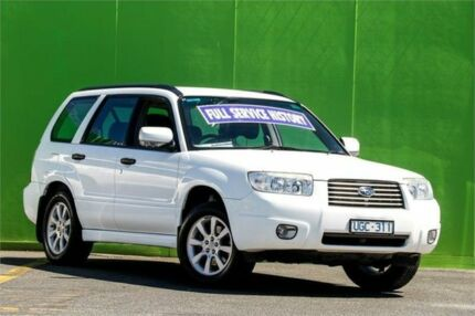 2006 Subaru Forester 79V MY07 XT AWD White 4 Speed Automatic Wagon Ringwood East Maroondah Area Preview