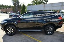 2015 Mitsubishi Pajero Sport QE MY16 Exceed Black Sports Automatic Wagon Campbelltown Campbelltown Area Preview