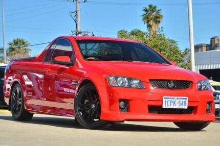 2009 Holden Commodore VE MY09.5 SS Red Hot 6 Speed Manual Utility Victoria Park Victoria Park Area Preview