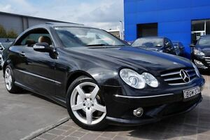 2008 Mercedes-Benz CLK350 C209 MY08 Avantgarde Black 7 Speed Sports Automatic Coupe Pearce Woden Valley Preview