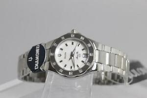 BRAND NEW BULOVA WITH DIAMOND LADIES WATCH SALE WITH RECEIPT -