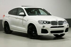 2016 BMW X4 F26 MY16 xDrive 35D White 8 Speed Automatic Coupe
