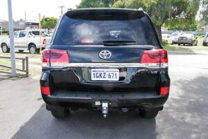2016 Toyota Landcruiser VDJ200R VX Eclipse Black 6 Speed Sports Automatic Wagon