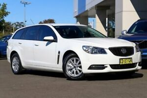 2015 Holden Commodore VF MY15 Evoke Sportwagon White 6 Speed Sports Automatic Wagon Kirrawee Sutherland Area Preview