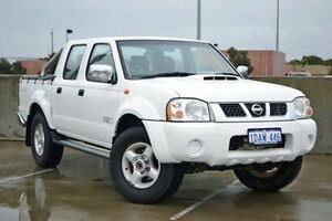 2009 Nissan Navara D22 MY2008 ST-R White 5 Speed Manual Utility Midland Swan Area Preview