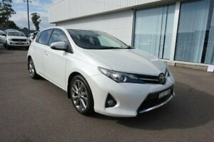 2012 Toyota Corolla ZRE152R MY11 Levin SX White 4 Speed Automatic Hatchback