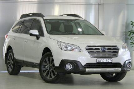 2017 Subaru Outback B6A MY17 2.5i CVT AWD Fleet Edition Crystal White 6 Speed Constant Variable