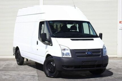 2012 Ford Transit VM 350 High Roof LWB White 6 Speed Manual Van