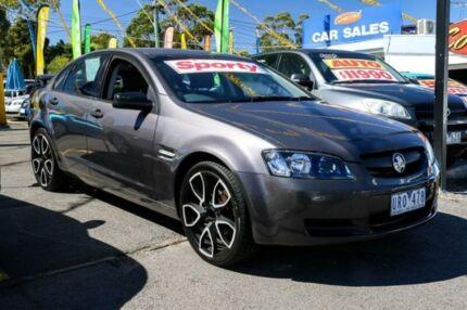 2007 Holden Commodore VE Omega Gunmetal Grey 4 Speed Automatic Sedan Ringwood East Maroondah Area Preview
