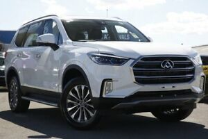 2018 LDV D90 SV9A Deluxe Blanc White 6 Speed Sports Automatic Wagon Rocklea Brisbane South West Preview