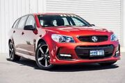 2016 Holden Commodore VF II MY16 SV6 Sportwagon Black Red 6 Speed Sports Automatic Wagon Osborne Park Stirling Area Preview