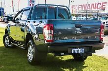 2014 Ford Ranger PX XLS Double Cab Grey 6 Speed Sports Automatic Utility Wangara Wanneroo Area Preview
